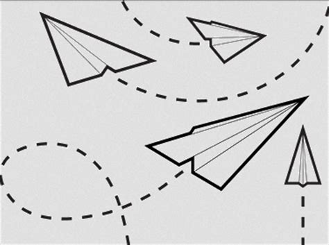 11 Paper Airplane Templates - Free Sample, Example